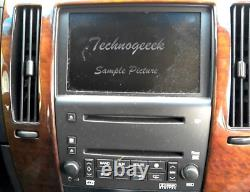 05-07 Cadillac STS Navigation GPS LCD Screen 6 Disc CD Changer DVD Player OEM
