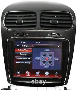 11-19 Dodge Journey Touch Display 8.4'' Screen Radio Cd Player 05064993AF