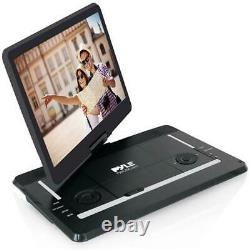15 Portable CD/DVD Player, HD Widescreen Display Built-in Rechargeable Battery