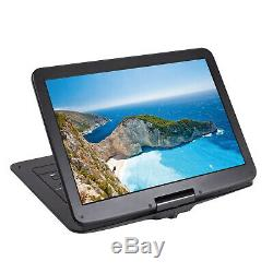 15'' Portable CD/DVD Player HD Widescreen Display Built-in Rechargeable Battery