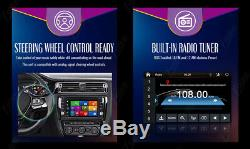 2-DIN Car Stereo CD DVD Player Receiver 6.2Touchscreen Display GPS Navigation