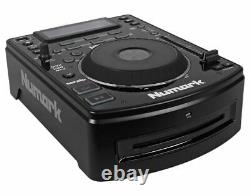 (2) Numark NDX500 DJ Tabletop USB/CD Media Player Controllers+Bluetooth Mixer