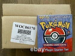 2000 Pokemon Base Set II 2 Player Starter Deck CD-Rom Set with1st Ed Machamp