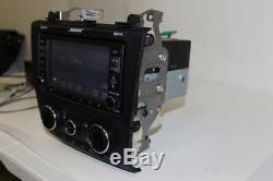 2008-2009 Nissan Altima Bose Navigation Radio Bluetooth CD Player 25915 Ja00b