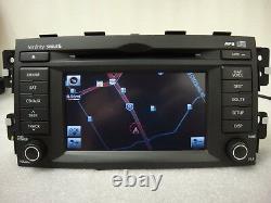 2009 2010 2011 Kia Borrego 6 Disc MP3 CD Player Navigation Radio 965602J260 OEM
