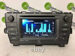 2011 2015 Toyota Prius JBL OEM Radio CD Player Green Edge HD radio 57034
