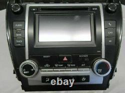 2013-2014 Toyota Camry Radio Screen Display Am/fm/cd Player 57076 Oem 86140-0601