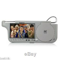 2019 Black Pair Dual Hd Digital Sunvisor Visor Monitors LCD CD Mp3 DVD Player