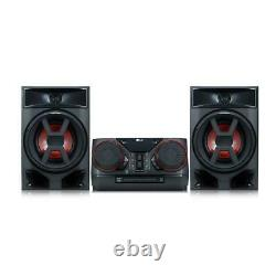 300W Hi-Fi Mini Home Stereo Shelf Bluetooth Music System with CD Player and FM
