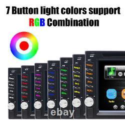 6.2 2 Din Car DVD CD Player Double Stereo Radio Bluetooth Mirror Link Headunit