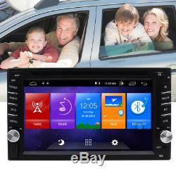 6.2'' Android 10.0 WiFi Double 2Din Car Radio Stereo GPS Navi CD DVD Player SWC