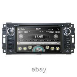 6.2 Car Radio GPS DVD Player RDS Stereo For Jeep Grand Cherokee Chrysler Dodge