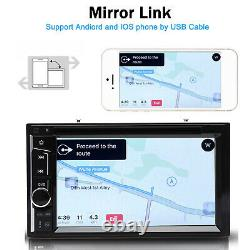 6.2'' Double Din CD DVD Player Car Radio Stereo Bluetooth For Ford Ranger Escape