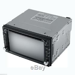 6.2HD 2Din GPS Navigation Car Stereo DVD CD Player iPod Bluetooth Radio+Camera