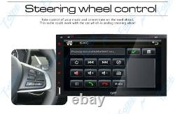 7 Double 2 Din Car Stereo HD CD DVD Player Radio Bluetooth FM TV Backup Camera