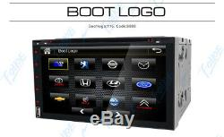 7 Double 2 Din Car Stereo HD CD DVD Player Radio Bluetooth with Backup Camera