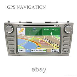 8 Car GPS CD DVD USB Player For Toyota Camry 2007-2011 Stereo Radio Head Unit