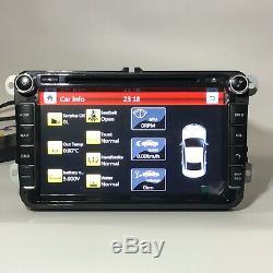 8 RADIO Navi Car DVD Stereo Player Bluetooth GPS for VW Volkswagen JETTA PASSAT