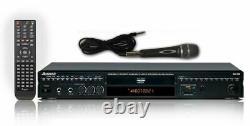 Acesonic DGX-220 HDMI Multi-Format Karaoke Player with Digital Recording
