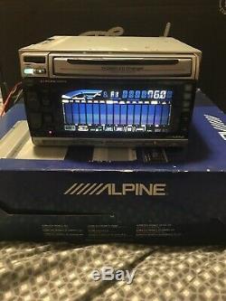 Alpine 3DA-W882J In-Dash CD Changer/ Cassette Player/ DSP/ Old School/ 2-DIN