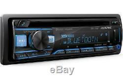 Alpine CDE-172BT Car Audio Single DIN In Dash Bluetooth CD Player Radio Receiver