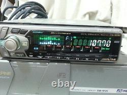 Alpine CTA-1505R & CHA-S605 TOP HI -END CD PLAYER AUDIO DSP BBE CAR AUTORADIO
