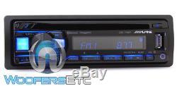 Alpine Cde-172bt CD Usb Mp3 Wma Aux Ipod Iphone Equalizer Eq Bluetooth Radio New