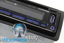 Alpine Cde-175bt CD Usb Mp3 Wma Aux Iphone Equalizer Eq Bluetooth Car Radio New