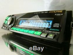 Alpine Sq Car Cd/mp3 Aux/ipod/xm Competition Headunit Receiver Player Stereo
