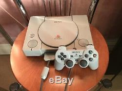 Audiophile Extremely Rare Sony PS1 Original RCA out console CD player SPCH 1002