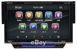 BOSS BV8974B 1 SINGLE DIN CAR DVD/CD PLAYER 7 TFT MONITOR USB/SD/iPOD BLUETOOTH
