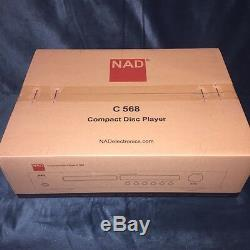 BRANDNEW&SEALED 2019 100% AUTHENTIC NAD C568 CD PLAYER (Flagship)