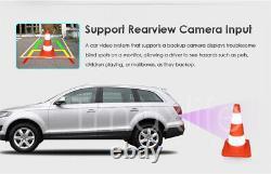 Backup Camera Double 2 Din Car Stereo Radio CD DVD Player Bluetooth Free Camera