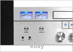 Bluetooth Home Classic Shelf Stereo System CD Player PLL FM Radio AUX-IN Remote