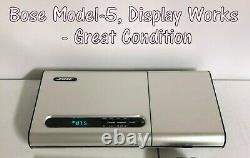 Bose Music Center Model 5 AM/FM CD Player, DISPLAY Works