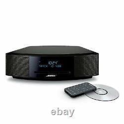 Bose Wave IV Music System CD MP3 Player AM/FM Radio Tuner Espresso Black Newwwww