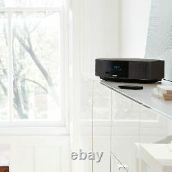 Bose Wave Music System IV with Remote, CD Player & AM/FM Radio-Black Silver-New