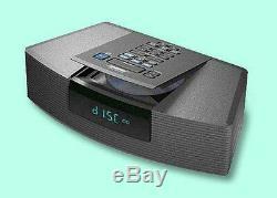 Bose Wave Radio AM/FM CD Player/Alarm Clock also for iPhone/iPod-Graphite-AWRC1G