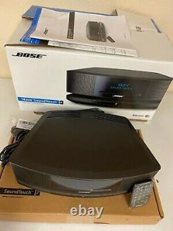 Bose Wave SoundTouch Music System IV Audio CD FM/AM Radio Wi-Fi Bluetooth Black