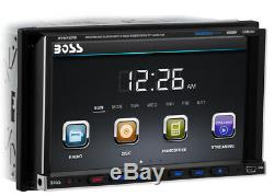 Boss Audio Bv9757b Double Din Car Dvd/cd/mp3/usb/sd/aux Player Stereo Bluetooth