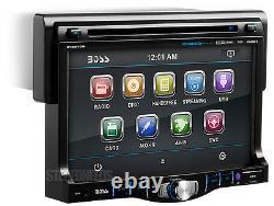 Boss Bv8970b 1-din Car Dvd/cd/mp3 Usb Player 7 Touch Screen Monitor Bluetooth