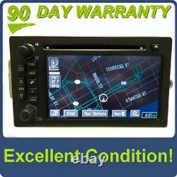 Cadillac Chevy Navigation GPS BOSE LUX Radio CD Player Stereo Display 15230099
