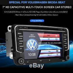 Car DVD CD Player GPS Radio Stereo For VW Jetta Golf Passat EOS Bora Amarok GTI