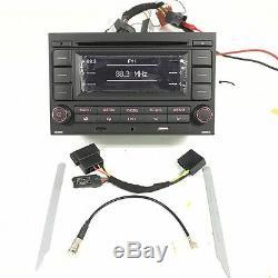 Car Radio RCN210 CD Player USB MP3 AUX Bluetooth For VW Golf Jetta MK4 Passat B5