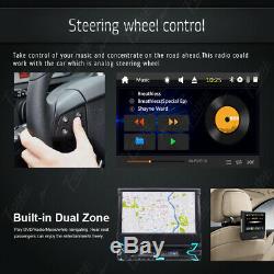 Car Stereo DVD CD Player In-Dash GPS Radio Single 1DIN 7 BT Detachable+Camera