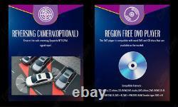 Car Stereo GPS Navigation Bluetooth Radio Double 2Din 6.2 CD DVD Player Camera
