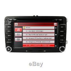 Car Stereo GPS Sat Nav CD DVD Player For VW Golf MK5 MK6 Tiguan Caddy POLO MK4