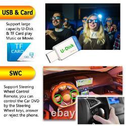 Car Stereo Mirrorlink-GPS Bluetooth Radio Double 2 Din 6.2 CD DVD MP5 Player