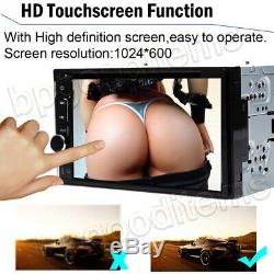 Car Stereo Mirrorlink-GPS Bluetooth Radio Double 2 Din 6.2 CD DVD Player+Camera
