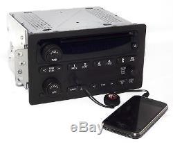 Chevy & GMC Truck 2005-2009 AM FM CD Player Radio w Aux MP3 Input OEM 15850275
